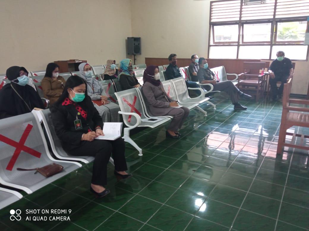 Rapat Monitoring dan Evaluasi Hakim PN Sukoharjo