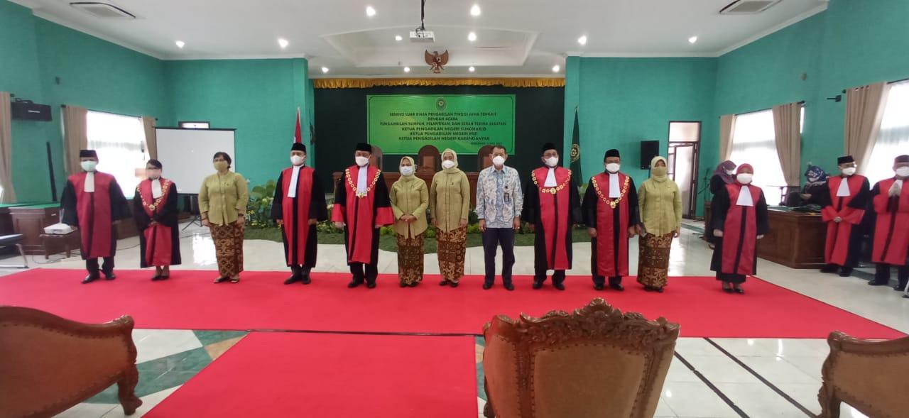 Pelantikan Ketua Pengadilan Negeri Sukoharjo