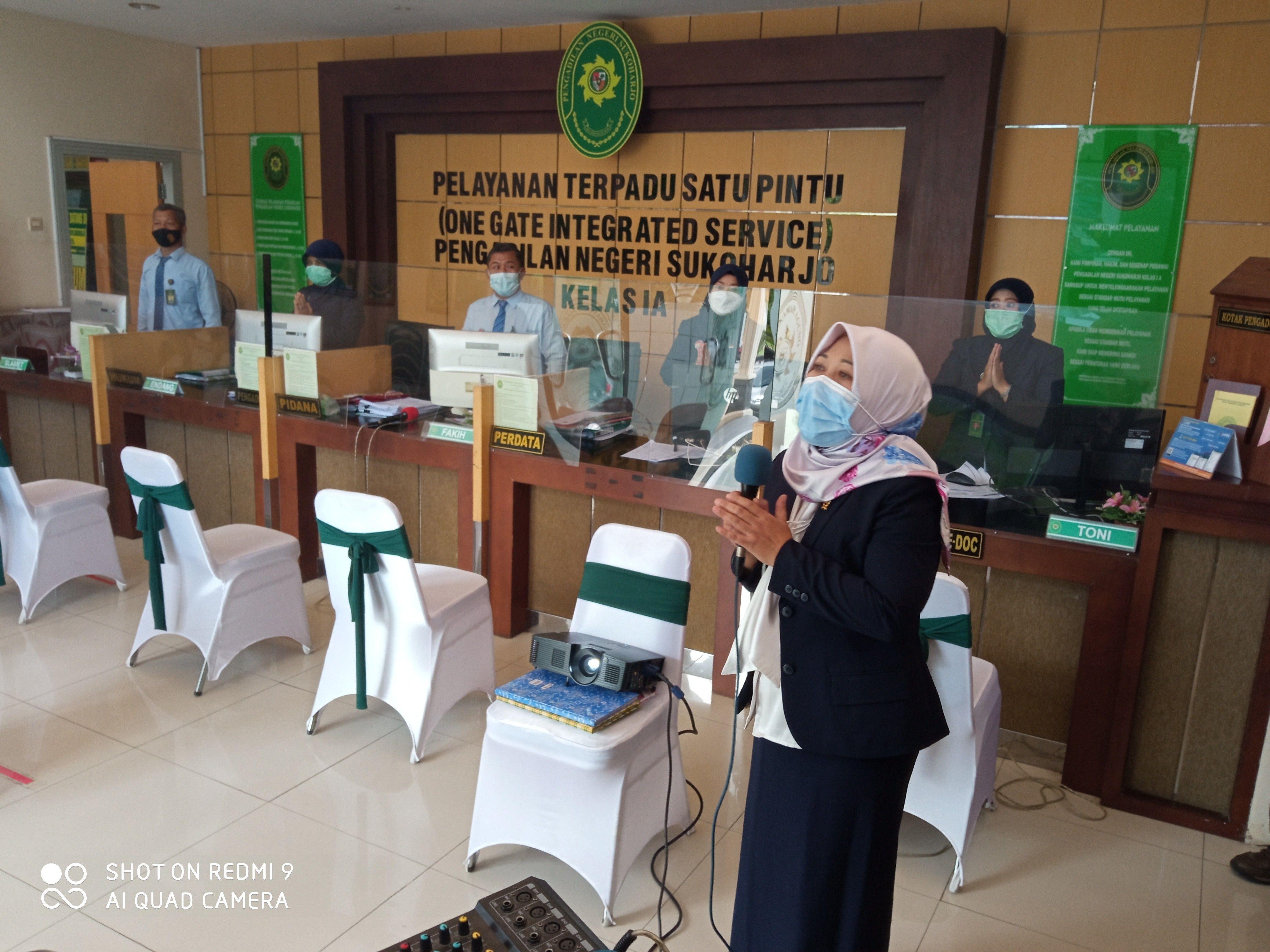 Penilaian Lomba PTSP oleh Pengadilan Tinggi Jawa Tengah